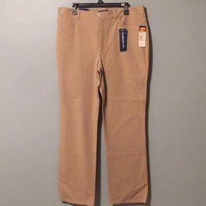 Chaps women's khaki pants size 14